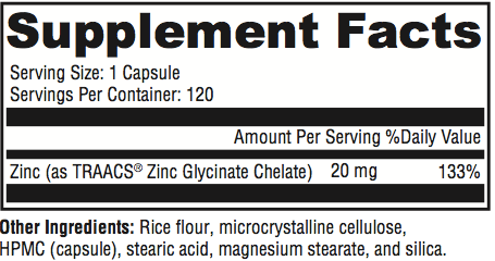 Zinc Supplement Facts Tulsa Supplements