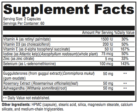 thyroid supplement facts tulsa functional medicine