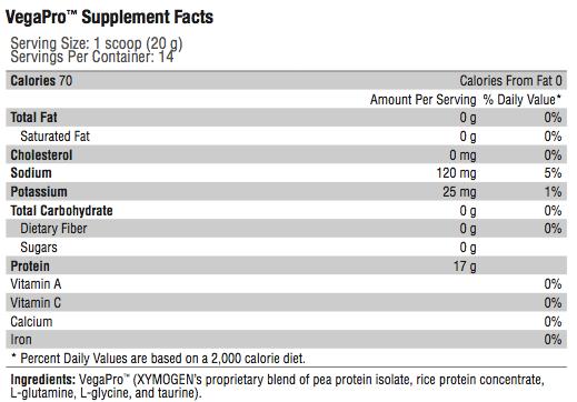 vegapro  p protein